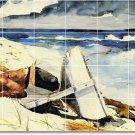 Homer Waterfront Kitchen Mural Tiles Backsplash Remodel Home Art