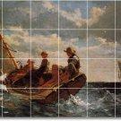 Homer Ships Backsplash Wall Mural Kitchen Decor Interior Modern