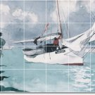 Homer Waterfront Living Wall Tiles Mural Room Home Remodel Decor