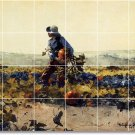 Homer Country Living Tiles Wall Mural Room Construction Design