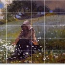 Homer Country Living Tiles Mural Room Wall Design Construction