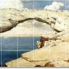 Homer Waterfront Living Mural Wall Room Tiles Remodel Decor Home