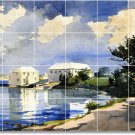 Homer Waterfront Tiles Floor Bedroom Mural Interior Design Decor