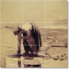 Homer Waterfront Mural Tile Room Wall Dining Home Modern Remodel