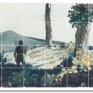 Homer Country Wall Tile Bathroom Murals Decorating Home Modern