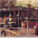 Homer Country Room Tile Dining Mural Wall Renovate Residential