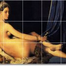 Ingres Nudes Room Tile Wall Design Idea Renovations Residential