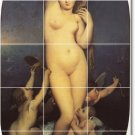 Ingres Nudes Tile Room Wall Idea Renovations Residential Design