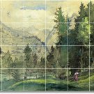 Inness Landscapes Floor Mural Kitchen Decorate Home Construction