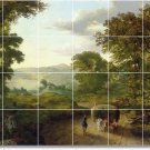 Inness Country Tile Room Murals Dining Remodel Traditional House