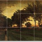 Inness Landscapes Murals Tile Wall Bedroom Ideas Decorating Home
