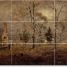 Inness Landscapes Dining Wall Murals Room Design Home Remodeling