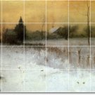 Inness Landscapes Wall Dining Room Tile Murals Renovations Ideas
