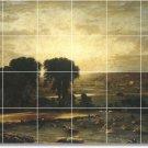 Inness Landscapes Dining Tile Floor Room Remodeling Traditional