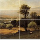 Inness Landscapes Tile Mural Dining Room House Ideas Remodeling