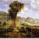 Inness Country Bedroom Floor Mural Wall Design Interior Renovate