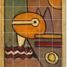 Klee Abstract Shower Bathroom Mural Tiles Wall Design Interior