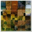 Klee Abstract Shower Murals Bathroom Tile Home Decorating Idea