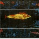 Klee Abstract Tile Shower Murals Bathroom Idea Decorating Home