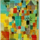 Klee Abstract Backsplash Mural Tile Renovation Interior Modern