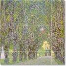 Klimt Village Kitchen Tile Mural Backsplash Renovations Design