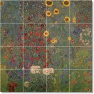 Klimt Garden Kitchen Backsplash Tiles Idea Renovations Interior