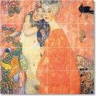 Klimt Abstract Wall Mural Tiles Room Living Renovate Modern Home