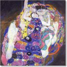 Klimt Abstract Tiles Wall Room Mural Mural House Decorating Idea