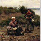 Knight Country Tiles Wall Mural Room Mural Idea House Decorating