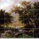 Koekkoek Landscapes Tiles Wall Dining Room Idea House Remodeling