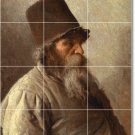 Kramskoy Men Tile Mural Room Wall Home Remodeling Decorate Idea