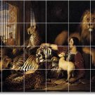 Landseer Animals Tiles Wall Mural Room Home Decorate Traditional