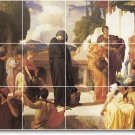 Leighton Historical Tiles Floor Room Mural Idea House Decorating