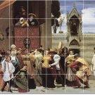 Leighton Historical Shower Wall Murals Tile Interior Decor Decor