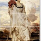 Leighton Women Room Tile Wall Mural Traditional Decorating House