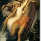 Leighton Nudes Room Tile Mural Wall House Traditional Decorating