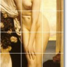 Leighton Nudes Wall Room Tile Mural Decorating Traditional House