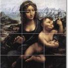 Da Vinci Religious Room Tile Wall Dining Murals Interior Decor