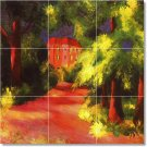 Macke Country Floor Room Mural Tiles House Traditional Decorate
