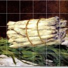 Manet Fruit Vegetables Floor Tiles Room Dining Art Commercial