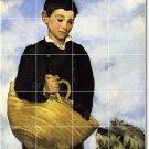 Manet Children Mural Room Tiles Floor Decorating Idea Commercial