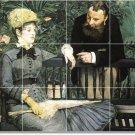 Manet Men Women Wall Room Murals Tile Decorating House Modern