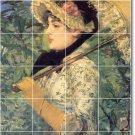 Manet Women Room Wall Tile Murals Renovations House Decor Ideas