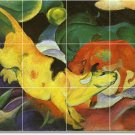 Marc Animals Room Dining Mural Wall Wall Renovations Home Ideas