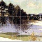 Metcalf Landscapes Mural Kitchen Tiles Modern Remodeling House