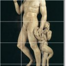 Michelangelo Sculpture Mural Shower Home Renovations Decorate