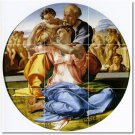 Michelangelo Religious Mural Room Dining Tile Wall Decor Home