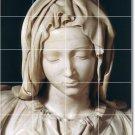 Michelangelo Sculpture Kitchen Mural Tile Modern Design Floor
