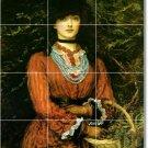 Millais Women Backsplash Kitchen Tiles Mural Wall Design Modern