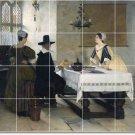 Millet Men Women Wall Dining Floor Murals Room Renovate Interior